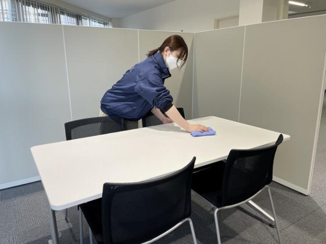 不二ビルサービス 広島赤十字・原爆病院 清掃部門の画像・写真