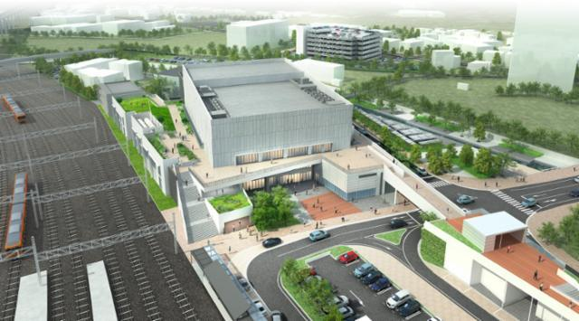 KDDI 維新ホール(山口市産業交流拠点施設)の画像・写真