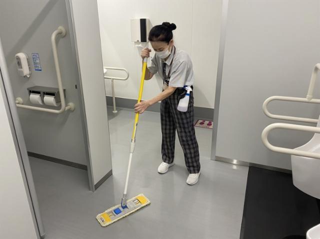 不二ビルサービス 広島稲荷町NKビル 清掃部門の画像・写真