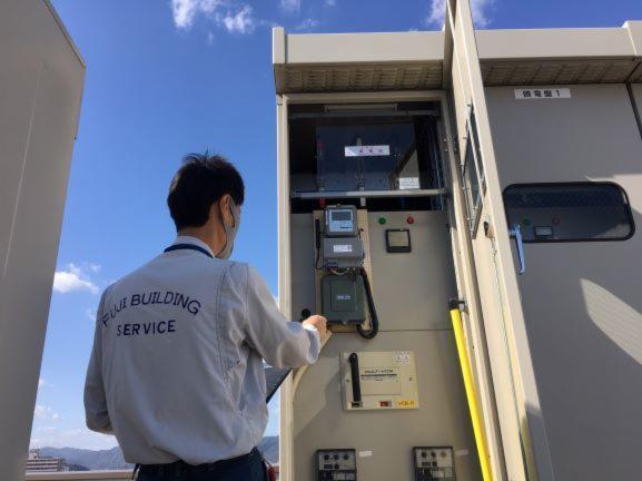 不二ビルサービス福山支店 大田記念病院 設備部門の画像・写真